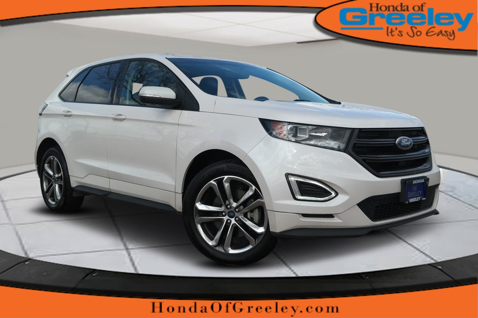 Pre owned 2016 ford edge sport