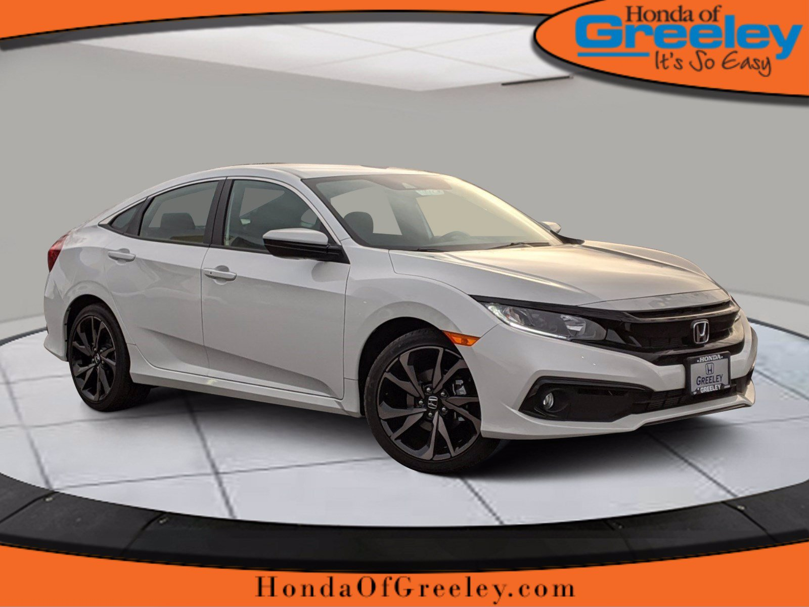 Pre-Owned 2020 Honda Civic Sedan Sport