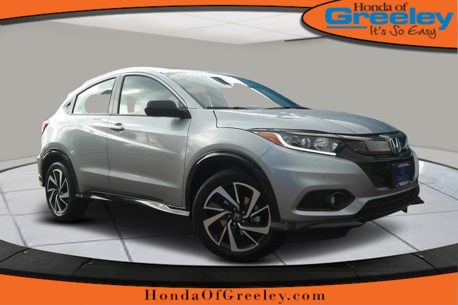 Honda Of Greeley >> New 2019 Honda HR-V Sport Sport Utility in Greeley #19H039 | Honda of Greeley