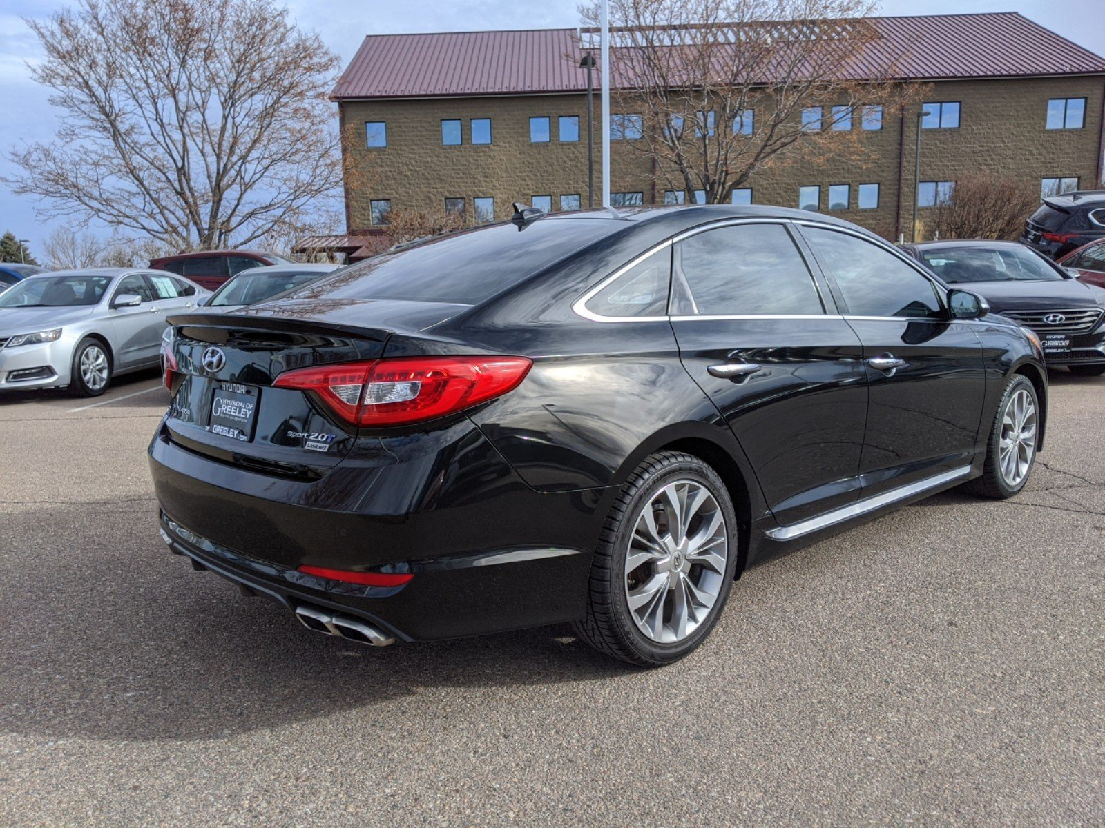 Hyundai Of Greeley >> Pre-Owned 2015 Hyundai Sonata 2.0T Limited 4dr Car in Greeley #20Y165A | Honda of Greeley