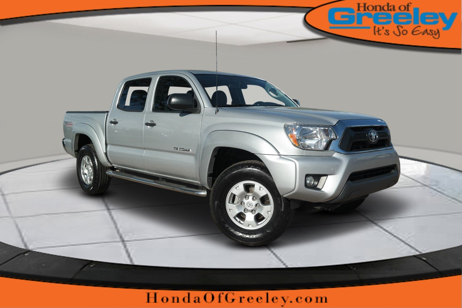Pre Owned 2013 Toyota Tacoma Crew Cab Pickup In Greeley A5536 Long Bed Fuel Hostage Wheels