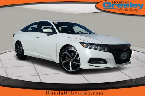 Pre-Owned 2019 Honda Accord Sport 1.5T
