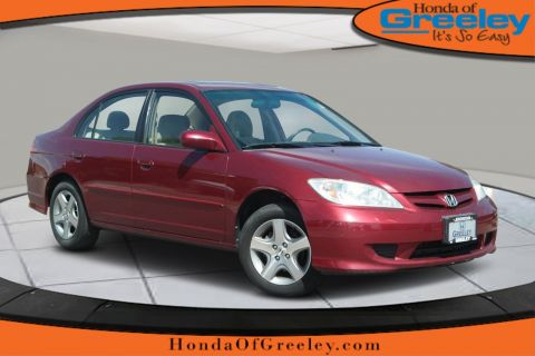Pre-Owned 2005 Honda Civic Sdn EX