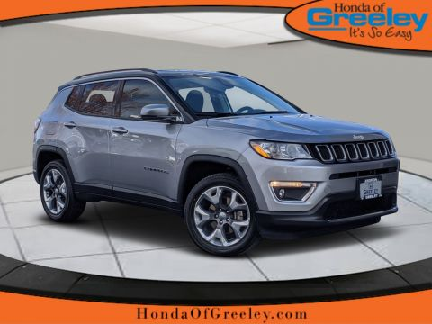 Pre-Owned 2017 Jeep Compass Limited