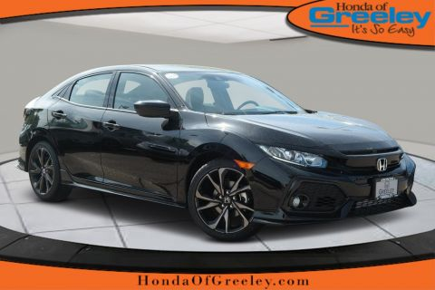 Pre-Owned 2019 Honda Civic Hatchback Sport